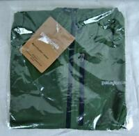 Patagonia Houdini Jacket Feather Weight Green Authentic 24141 Mens Slim Fit