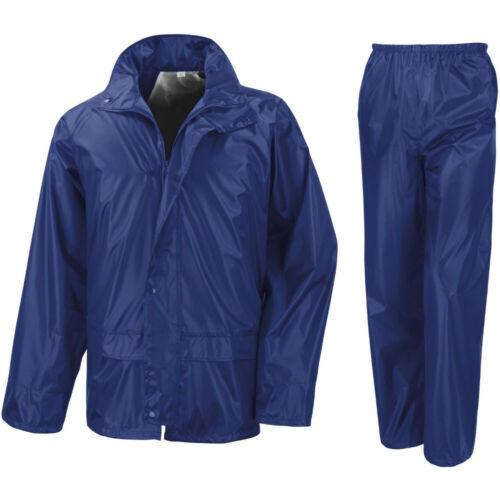 Outdoor Look Homme TULLICH Imperméable Veste Pantalon Set