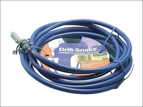 15ft snake-plomberie outils-mon3351 3351g drill snake