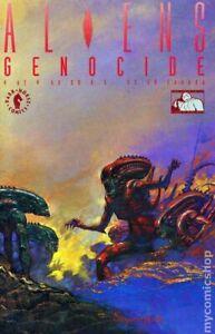 Aliens Genocide #4 FN 1992 Stock Image