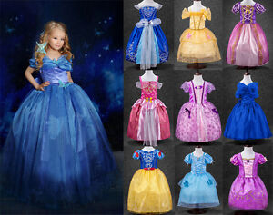 Nice Image Is Loading Princess Sofia Cinderella Costume Party Long Gown Dress