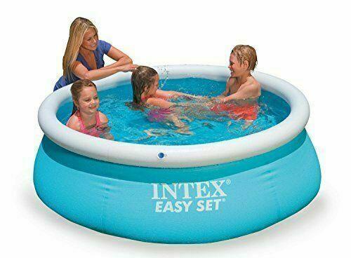 6ft x 20in Intex Easy Set Inflatable Swimming Pool great fun for kids 28101 BNIB
