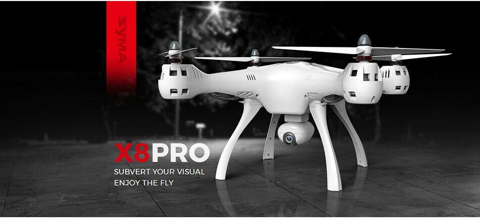 Syma X8  Pro Drone RC Quadcopter Wifi teletelecamera GPS FPV Professional Quadrocopter  risposte rapide
