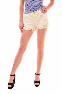 Shorts & Bermudas Ordentlich Free People Damen Daisy Chain Lace Shorts Getragen Weiß Größe 26 Uvp 67 Bcf77 Im Sommer KüHl Und Im Winter Warm