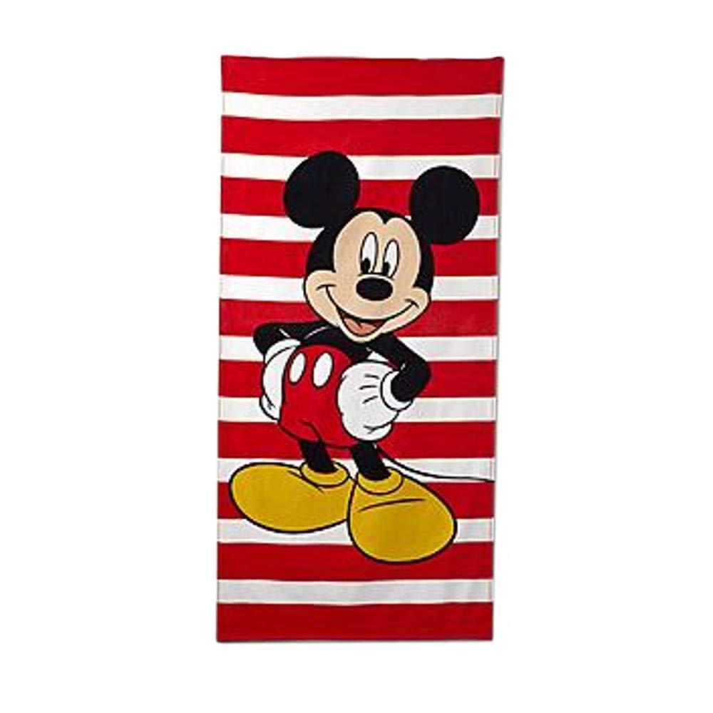 Boys Disney Bath Beach Towel 3 Piece Set Mickey Mouse Toy Story