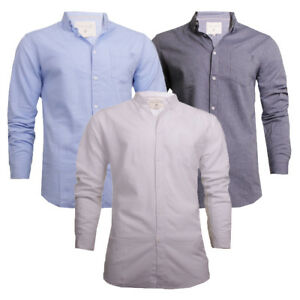 23ea6c93d6e4 Mens Soul Star Long Sleeve Oxford Button Down Collar Summer Casual ...