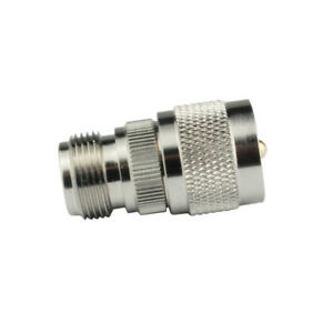 10x-N-type-female-Jack-to-UHF-Plug-PL259-Male-RF-coax-adapter-straight-connector
