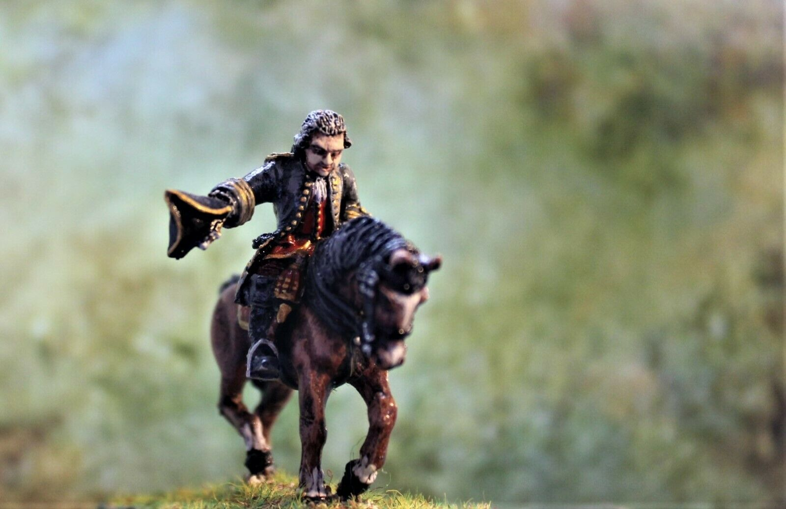 28mm French War of Spanish Succesion Gen  ProPainted