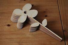 Set dieci pezzi di forma un grande fiore Bella Decorazione l7 per decoupage