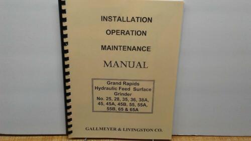 Gallmeyer /& Livingston 25 Thru 65A Service  Manual