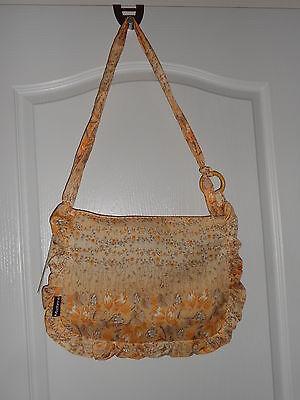 Damen -Umhängetasche-Stofftasche mit Muster von Madonna - Hippie Look - NEU -