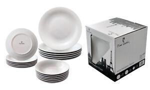 Vajilla cocina 18 piezas porcelana Pierre Cardin