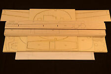 Large 1/5 Scale T-28B TROJAN Laser Cut Short Kit & Plans 82 in. wing span.