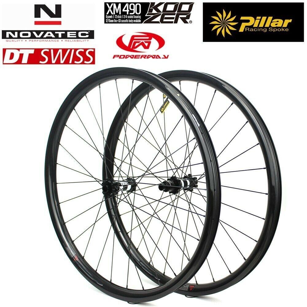Super Light 310g  Carbon Rim 29er hookless Carbon MTB Wheelset 2824mm  no hesitation!buy now!