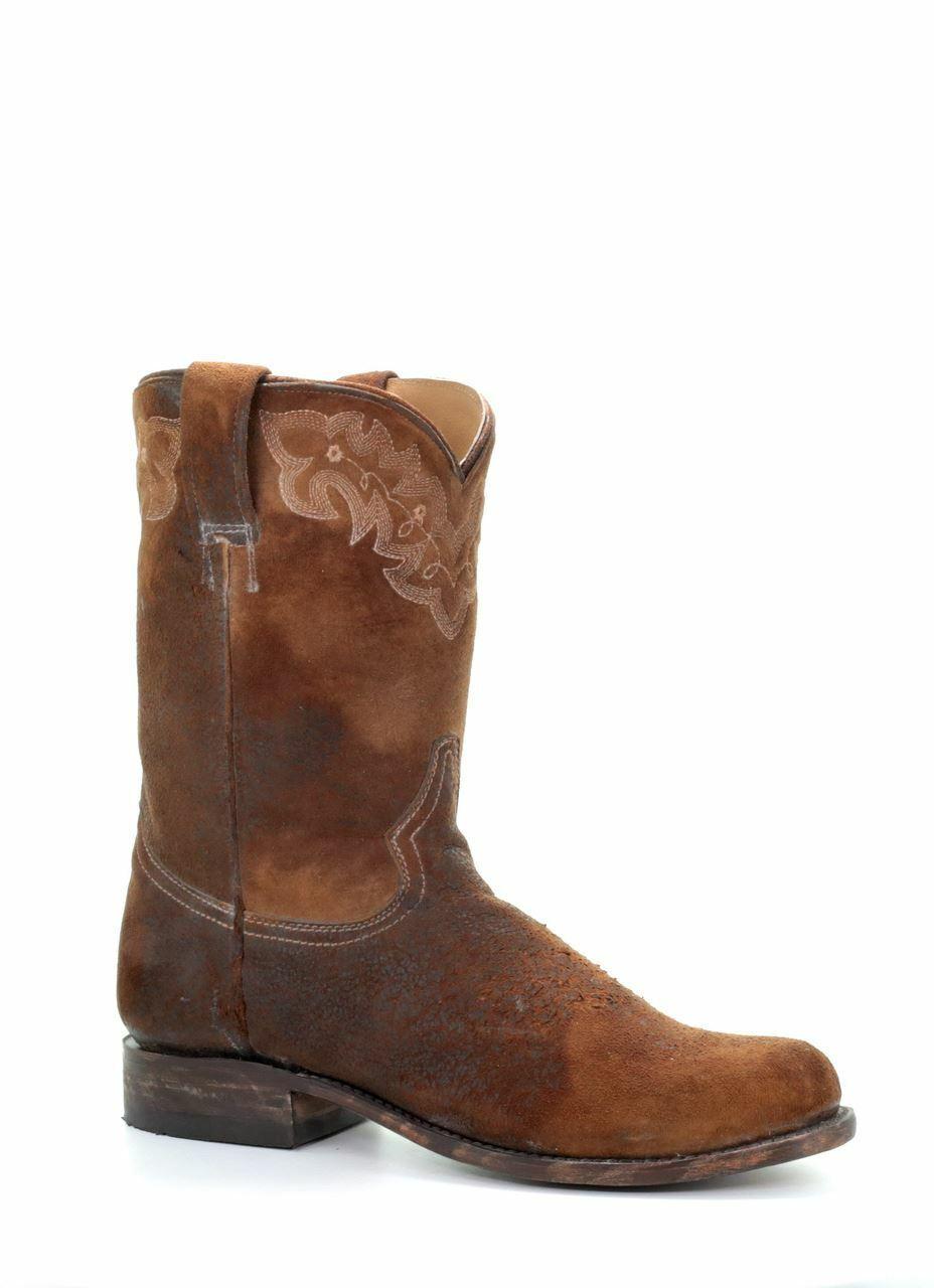Corral Uomo Lamb Skin Narrow Square Toe Western stivali stivali stivali Chocolate A3484 f02c4d