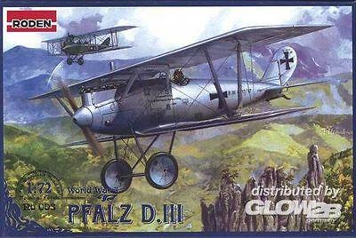 RODEN Albatros D.V//Va Jagdflugzeug 1:72 Modell-Bausatz Manfred Richthofen kit