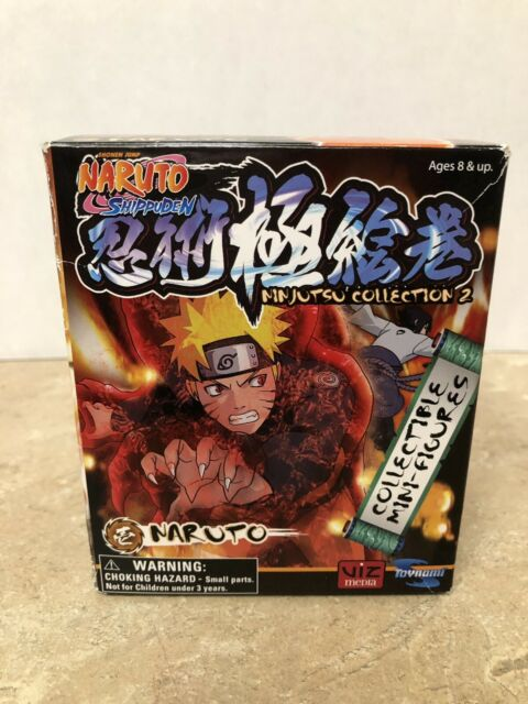 Toynami Naruto Shippuden Ninjutsu Collection 4 Inch Series 2 Naruto Figure