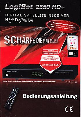 Bedienungsanleitung Sat-receiver Logisat 2550 Hd+