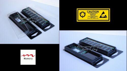 Memory Storage Case for Laptop or Desktop DDR DDR2 DDR3 Modules Lot of 6 12 60