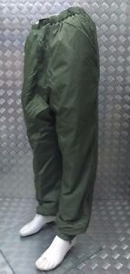 Genuine-British-Military-Softy-Reversible-Cold-Weather-Trouser-Green-Sand-NEW