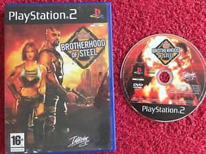Details about FALLOUT : BROTHERHOOD OF STEEL DISC ONLY BLACK LABEL SONY  PLAYSTATION 2 PS2 PAL