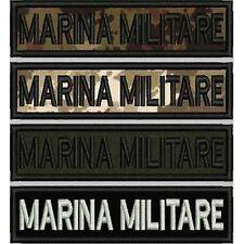 [Patch] MARINA MILITARE cm 12 x 3 toppa ricamata ricamo termoadesiva -400