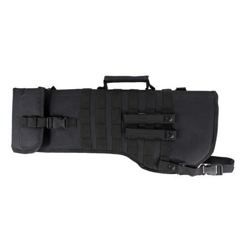 Tactical Shotgun Rifle Scabbard Case Bag Military Shoulder Carry Bag Holder