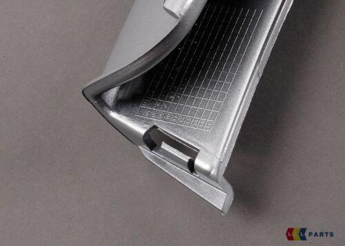 New Genuine AUDI TT 07-14 Pare-chocs Arrière Lower spoiler bordure argent 8J0807514 X7W