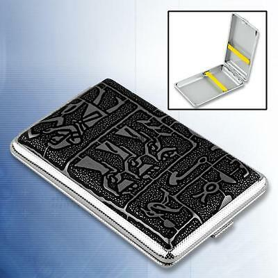 Elegant CIGARETTE CASE ~ ~ ~ cigaret holder colour gift metal cigeret box design
