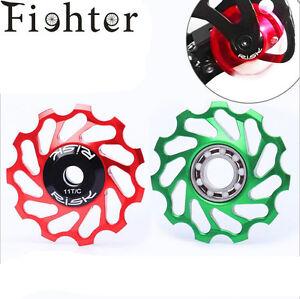 11T Rear Derailleur Guide pulley with Ceramic Sealed Bearing Jockey Wheel Alloy