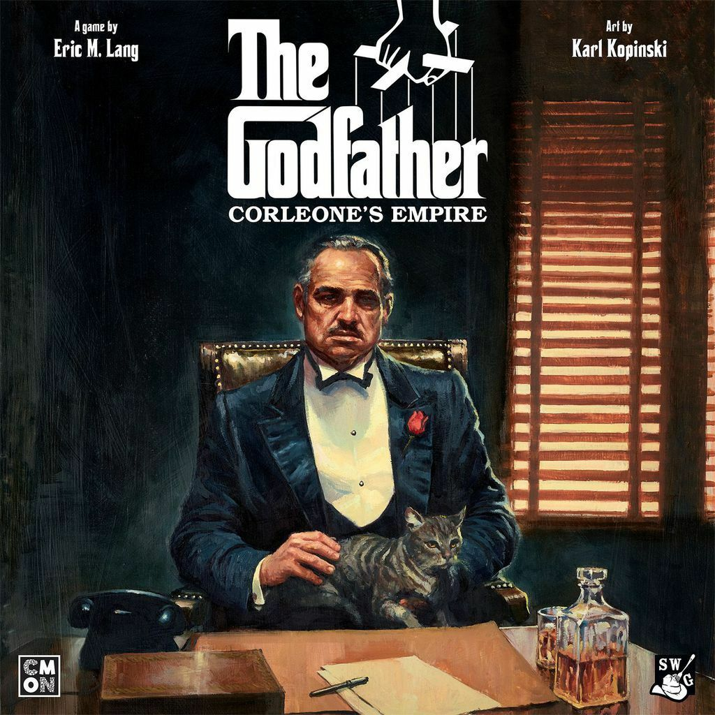 The Godfather: Corleone's Empire - Board Game - Factory Sealed - Free Shipping