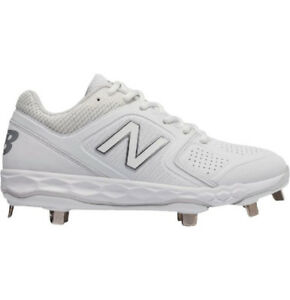 378d594948645 Details about 2019 New Balance Velo 1 Women's Metal Softball Cleats Ladies  Fastpitch All White