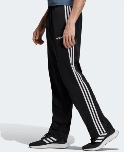 adidas pants 3 stripes black