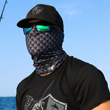Salt Armour Carbon Fiber Face Shield Sun Mask Balaclava Neck Gaiter Neckerchief