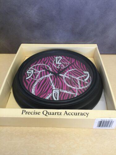 Precise Quartz Accuracy Wall Clock 11.75 inch NEW