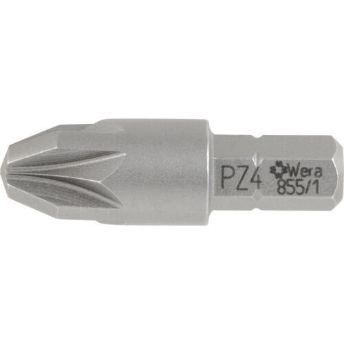 Nouveau Wera high impact tournevis bit PZD 4 x 32 mm chaque