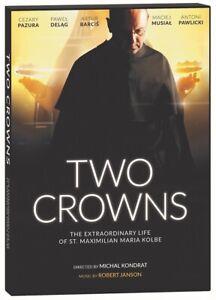 TWO CROWNS. THE EXTRAORDINARY LIFE OF ST MAXIMILIAN KOLBE DVD