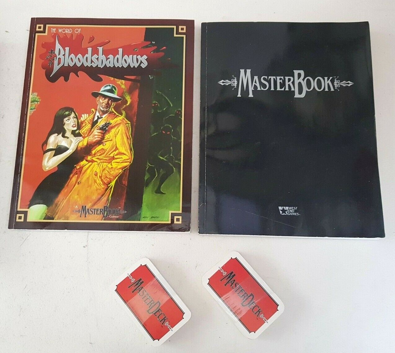 Bloodshadows Masters Book Game Boxed