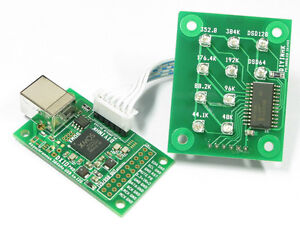 XMOS-USB-DSD-DXD-384kHz-high-quality-I2S-PCB-w-ultralow-phase-noise-oscillator