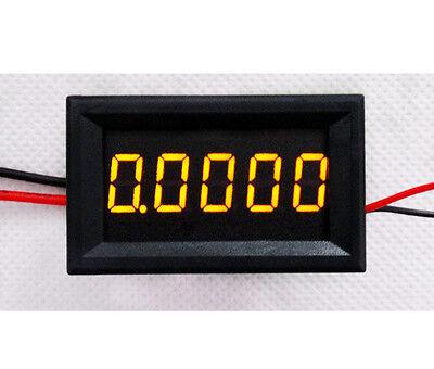 5bit Digital DC Ammeter 0-3.0000A AMP Meter LED Current Monitor Built-in Shunt Y