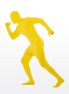 Zentai Ganzkörperanzug gelb - Unigröße