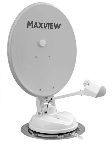 Maxview B2590/65 65cm Crank up Twin LNB Caravan Motorhome Satellite Dish system