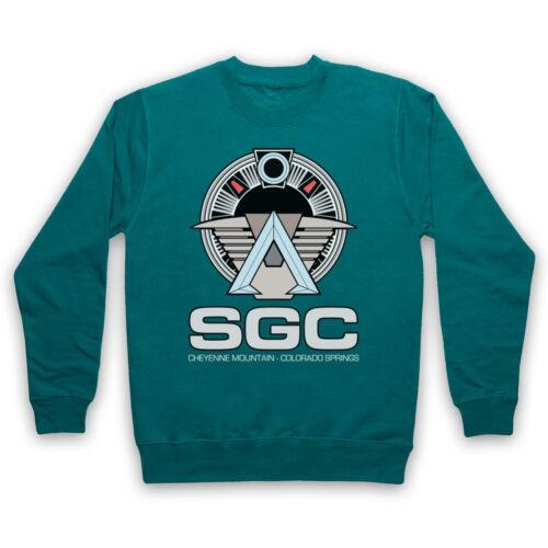 SGC STARGATE UNOFFICIAL STAR GATE COMMAND SCI FI TV ADULTS /& KIDS SWEATSHIRT
