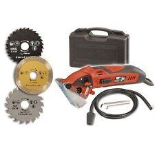 Circular Saw Rotorazer 400 Watt+ 3 Blades+ Drywall +Ceramic Tile+ Wood Metal PVC