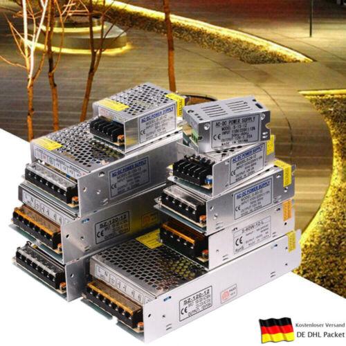 Supply LED Strip DC 5V 12V 24V LED Netzteil Trafo Schaltnetzteil Adapter Power