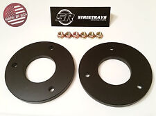 "StreetRays 04-16 Ford F150 1"" Front Leveling Lift Kit 4WD 2WD Strut Spacer BLACK"