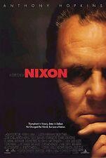 NIXON 1995 Anthony Hopkins, Joan Allen, Ed Harris, Bob Hoskins US 1-SHEET POSTER