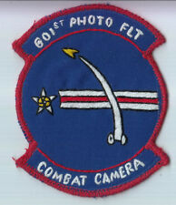 Wartime 601st Photo Flight Patch, Aviation Insignia Combat Camera