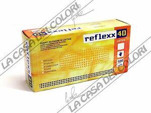 Caricamento dell immagine in corso REFLEXX-40-GUANTI-IN-LATTICE-SENZA- POLVERE-CONF- d34a5c92aed8