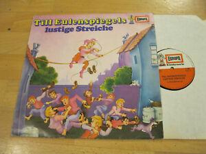 LP-Till-Eulenspiegels-lustige-Streiche-Hoerspiel-Vinyl-Europa-Kinderserie-E-208